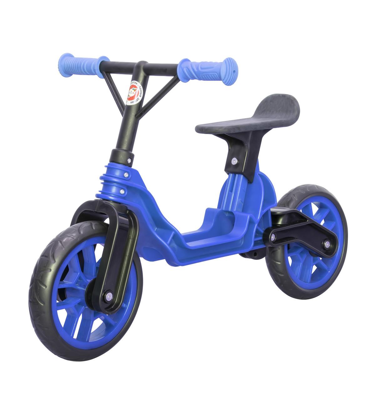 Мотоцикл 2-х колёсный Байк беговел синий