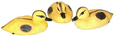 Утки плавающие украшение для пруда 3 шт