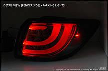 Задняя оптика LED BMW-Style (BLACK EDITION) для KIA Sportage R (AUTO LAMP), фото 3