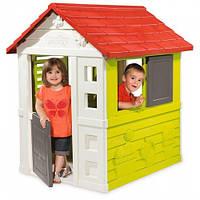 Домик детский игровой  Nature  Smoby - Франция -  окна с жалюзи