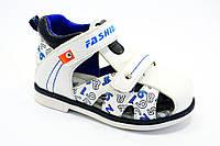 Детская летняя обувь. Мальчиковые босоножки от фирмы Jong golf A517-7 (8пар, 21-26)