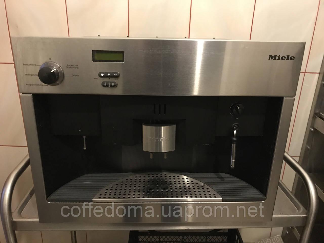 Miele cva 620 кофемашина встраеваемая