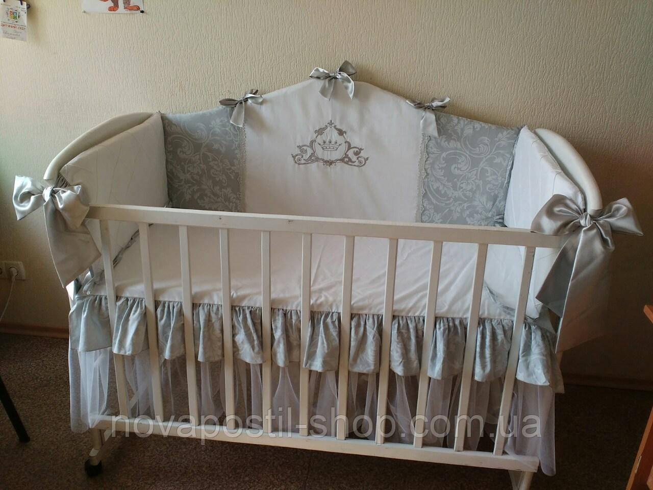 Набор в детскую кроватку Mon Bell (6 предметов)