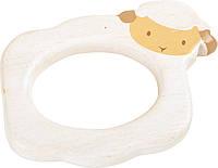 Деревянное кольцо прорезыватель Овечка Legler