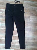 Черные джинсы с высокой талией. Италия