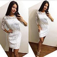 Стильное платье из кружева купить про-во Китай,разм 42-44