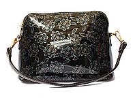 """Женская лаковая сумка """"Мини"""" Lak-2 Черный, Красный, Бежевый"""