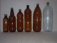 ПЭТ бутылка 3,0  л  для розлива пива, кваса, лимонада, доставка по Николаеву
