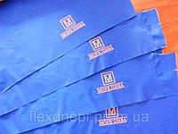 Нанесение на логотипа на одежду.