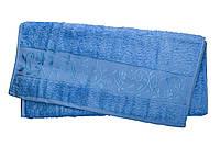 Полотенце махра-бамбук   50x90 bamboo голубое