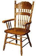 Обеденный стул с подлокотниками, 828-А цвет - дуб кантри