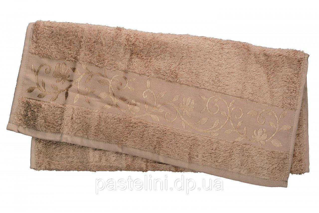 HanibabaБамбуковое полотенце 50x90 bamboo светло-бежевое