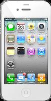"""Точная копия Apple iPhone 4 (4S), емкостной дисплей 3.5"""", Wi-Fi, 4 Гб, 1 SIM. Белый. Заводская сборка!, фото 1"""