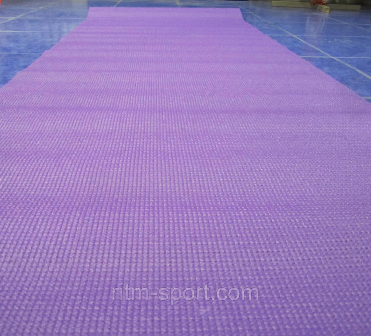 Килимок для йоги та фітнесу Yoga mat 3 мм