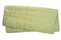 Полотенце махра-бамбук   70x140 bamboo  светло-салатовый