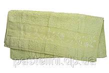 Рушник махра-бамбук 70x140 bamboo світло-салатовий
