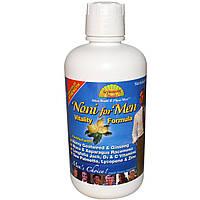 Dynamic Health Laboratories, Нони для мужчин, формула бодрости, 32 жидких унции (946 мл)