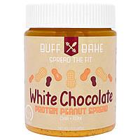 Buff Bake, White Chocolate Protein Almond Spread, Net Wt 13 oz (368 g)