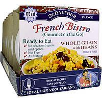 St. Dalfour, Французское бистро, Gourmet on the Go, цельные злаки с фасолью, 6 упаковок, 6,2 унции (175 г) каждая