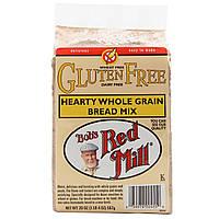 Bobs Red Mill, Цельнозерновая смесь для выпечки хлеба, без глютена, 20 унций (567 г)