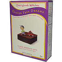 Cherrybrook Kitchen, Смесь для приготовления шоколадного торта, без глютена 14 унции (397 г)