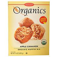 European Gourmet Bakery, Органическая смесь для кексов с яблоком и корицей, 16 унций (453 г)