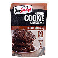 FlapJacked, Protein Cookie and Baking, Double Chocolate, 9 oz (255 g)