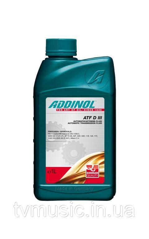 Трансмиссионное масло ADDINOL ATF DIII 1L