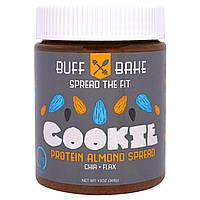 Buff Bake, Протеиновый Спред с Миндальным Печеньем, 13 унций (386 г)