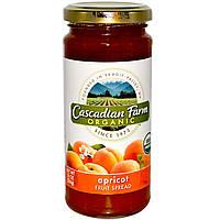 Cascadian Farm, Органический фруктовый спред, абрикос, 10 унций (284 г)