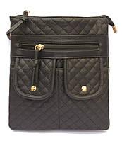 Женская сумка на плечо, через плечо Moj-0159 Черный. Розовый, Голубой, Белый
