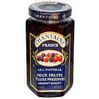 Chantaine, Пресервы люкс, четыре фрукта, 11,5 унции (325 г)
