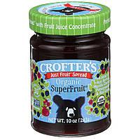 Crofters Organic, Органический простой фруктовый спред, суперфрукт, 10 унций (283 г)