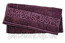 Рушник махра-бамбук 50x90 bamboo сливовий
