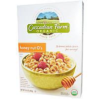 Cascadian Farm, Органические, кружочки медового ореха, 269 г (9,5 унций)