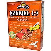 Food For Life, Ezekiel 4:9, проросшие цельнозерновые хлебные злаки, 16 унций (454 г)