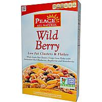 Golden Temple, Peace Cereal, Обезжиренные кластеры и хлопья, лесные ягоды 10 унции (284 г)