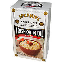 McCanns Irish Oatmeal, Овсяная каша быстрого приготовления, 12 пакетиков, каждый по 28 г