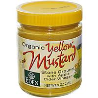 Eden Foods, Органическая желтая горчица 9 унции (255 г)