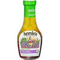 AnniesСвекольный сок, Органическая уксусная заправка с красным вином и оливковым маслом, 8 жидк. унц. (236 мл)