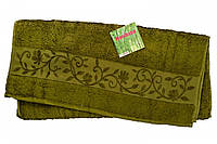 Полотенце махра-бамбук   50x90 bamboo хаки