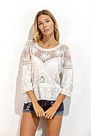 Женская блуза легкая СС7114
