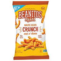 Beanitos, Хрустящие палочки из белой фасоли White Bean Crunch, Mac n Cheese, 7 oz (198 г)