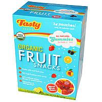 Tasty Brand, Закуска из органических фруктов, смешанные фруктовые ароматизаторы, 24 пакета, 23 г (0,8 унции) каждый