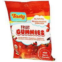 Tasty Brand, Фруктовые желатиновые мишки, ароматы лесных ягод, 2,75 унции (78 г)