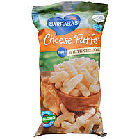Barbaras Bakery, Выпеченные сырные слойки, белый чеддер, 5.5 унций (155 г)