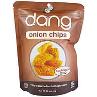 Dang Foods LLC, Луковые чипсы, Эпплвуд Барбекю, (65 г)