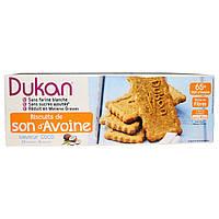 Dukan Diet, Печенье с овсяными отрубями, кокосовое, 6 пакетиков по 3 печенья (37 гр) в каждом