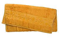 Полотенце махра-бамбук   70x140 bamboo  золотой