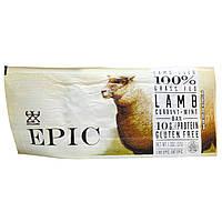 Epic Bar, Ягненок, Смородина + мята, 12 батончиков по 1,3 унции (37 г)